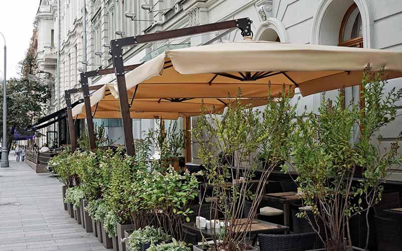 Зонты и маркизы